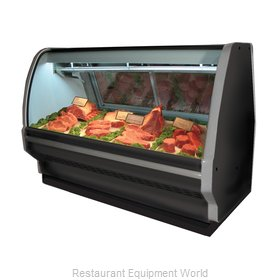 Howard McCray SC-CMS40E-6C-BE Display Case, Red Meat Deli