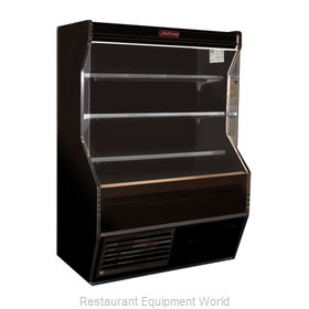 Howard McCray SC-D32E-3-B-LED Merchandiser, Open
