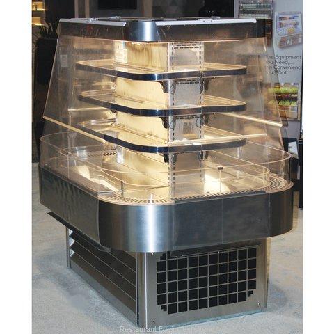 Howard McCray SC-OD42I-5-S-LED Merchandiser, Open