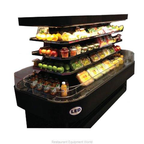 Howard McCray SC-OD42I-7-B-LED Merchandiser, Open