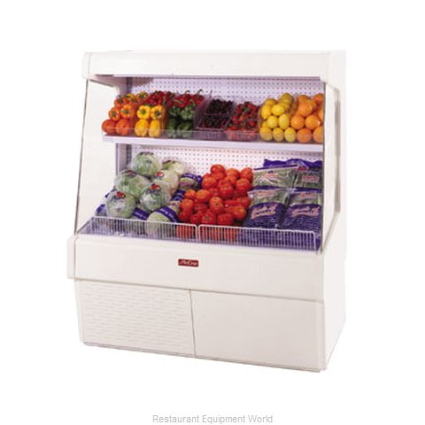 Howard McCray SC-OP30E-3L-LS-B Display Case Open Produce (Magnified)