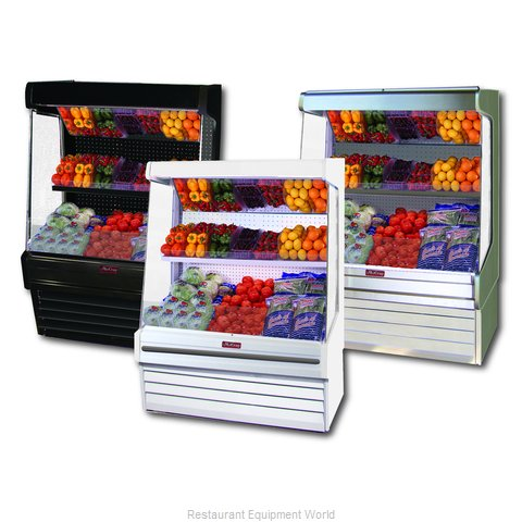 Howard McCray SC-OP30E-4-LS Display Case Open Produce (Magnified)