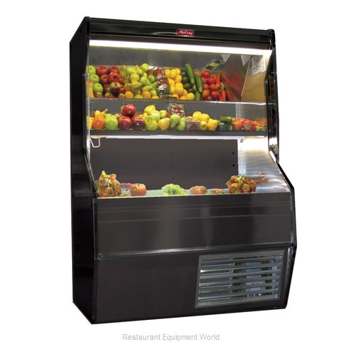Howard McCray SC-P32E-6S-B Display Case Open Produce (Magnified)