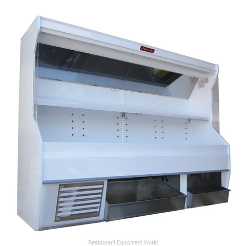 Howard McCray SC-P32E-8S-BINS Display Case, Produce (Magnified)