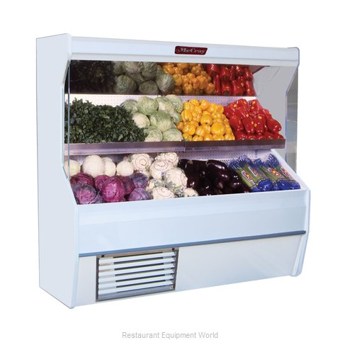 Howard McCray SC-P32E-8S Display Case Open Produce