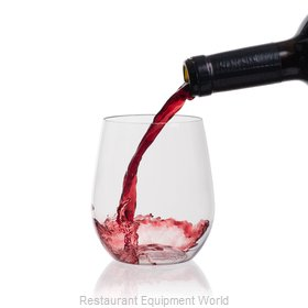 Host & Porter HPO-112107 15 oz. Stemless Wine Glass