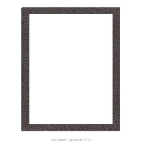 Risch MENUFRAME-1P2V 8.5X11 METRO Menu Cover