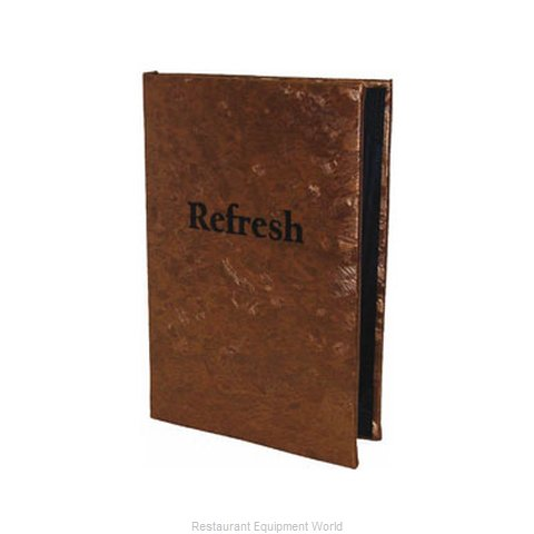 Risch MET-2V 8.5X11 Menu Cover