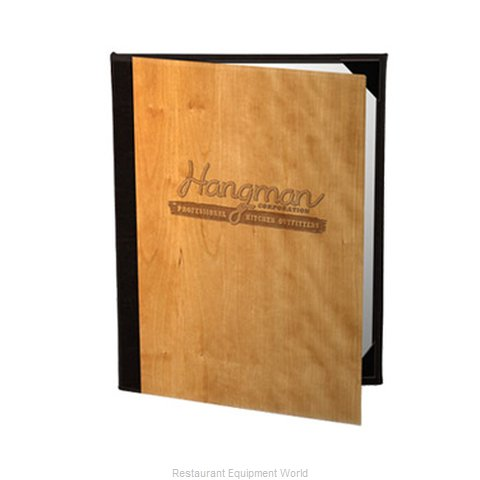 Risch WOOD6V-4-1/4X14 Menu Cover (Magnified)