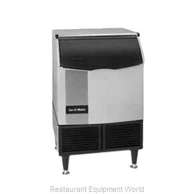 Ice-O-Matic ICEU226HW Ice Maker with Bin, Cube-Style