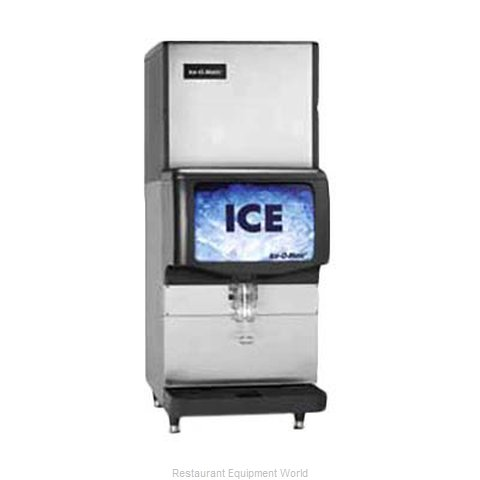 Ice-O-Matic IOD150 Ice Dispenser (Magnified)