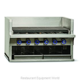 Imperial IABA-36 Charbroiler, Gas, Countertop