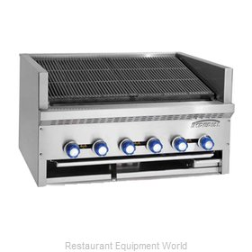 Imperial IABS-48 Charbroiler, Gas, Countertop