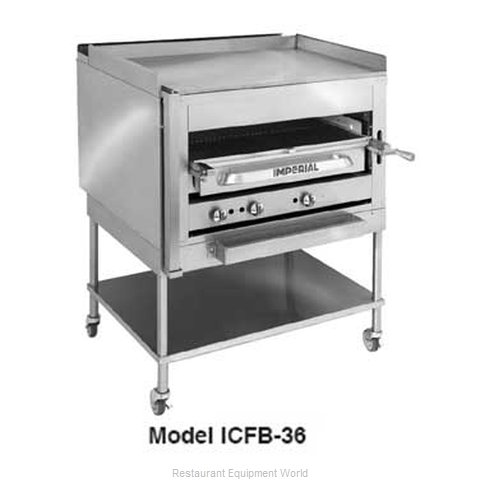 Imperial ICFB-36 Griddle Overfire Broiler Gas Floor Mod