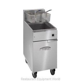 Imperial IFS-40-E Fryer, Electric, Floor Model, Full Pot