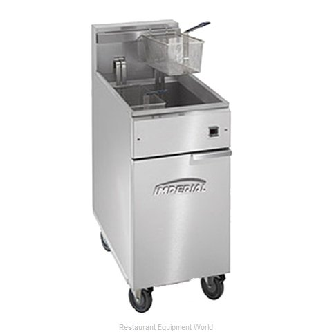 Imperial IFS-40-EU Fryer Floor Model Electric Full Pot