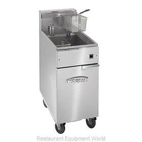 Imperial IFS-40-EU Fryer, Electric, Floor Model, Full Pot