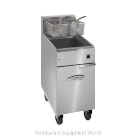 Imperial IFS-50-E Fryer Floor Model Electric Full Pot