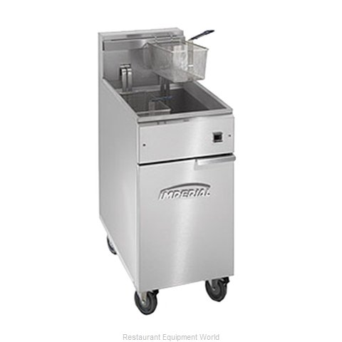 Imperial IFS-50-EU Fryer Floor Model Electric Full Pot