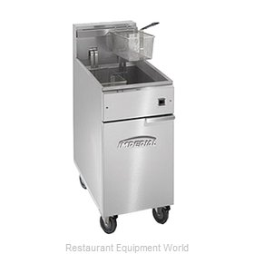 Imperial IFS-50-EU Fryer, Electric, Floor Model, Full Pot