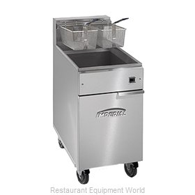 Imperial IFS-75-E Fryer Floor Model Electric Full Pot