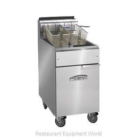 Imperial IFS-75-OP Fryer, Gas, Floor Model, Full Pot