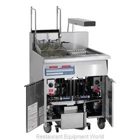Imperial IFSCB-150-OP-T Fryer, Gas, Floor Model, Full Pot