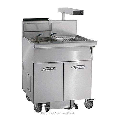 Imperial IFSCB-175-OP-C Fryer, Gas, Floor Model, Full Pot