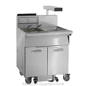 Imperial IFSCB-175-OP-C Fryer, Gas, Floor Model, Full Pot