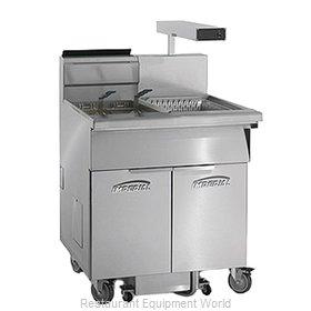 Imperial IFSCB-175-OP Fryer, Gas, Floor Model, Full Pot