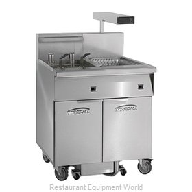 Imperial IFSCB150E Fryer, Electric, Floor Model, Full Pot