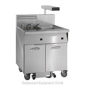 Imperial IFSCB150EC Fryer, Electric, Floor Model, Full Pot