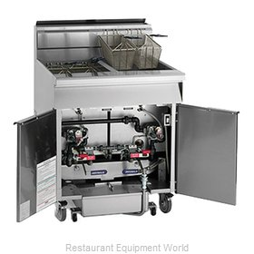 Imperial IFSSP-250-OP Fryer, Gas, Multiple Battery