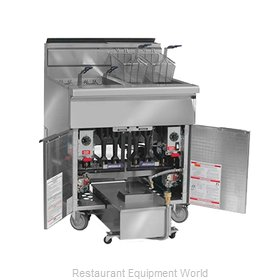 Imperial IFSSP-450 Fryer, Gas, Multiple Battery