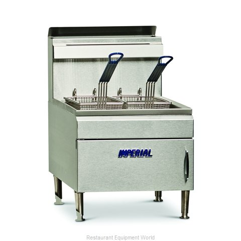 Imperial IFST-25 Fryer Counter Unit Gas Full Pot