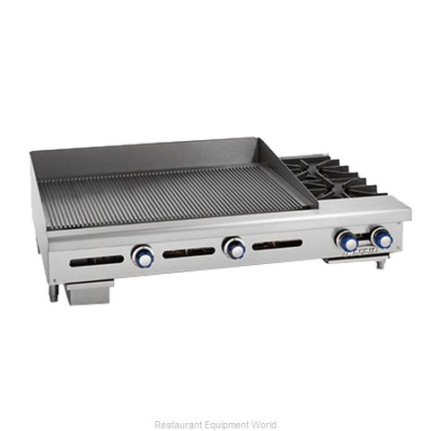Imperial IGG-36-OB-2 Griddle Hotplate Counter Unit Gas