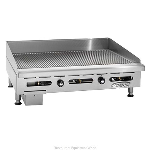 Imperial IGG-36 Griddle Counter Unit Gas