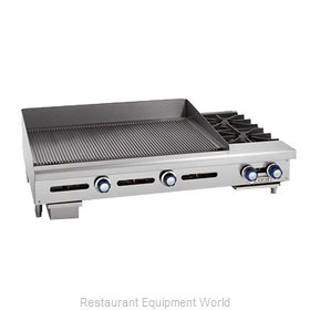 Imperial IGG-48-OB-2 Griddle / Hotplate, Gas, Countertop