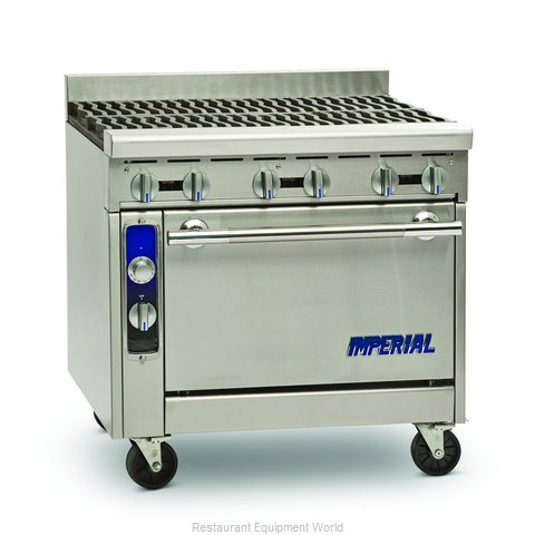 Imperial IHR-6 Range 36 6 open burners