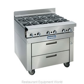 Imperial IHR-XX-RM-36 Equipment Stand, Refrigerated Base
