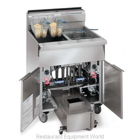 Imperial IHRSP-475C Fryer, Gas, Multiple Battery