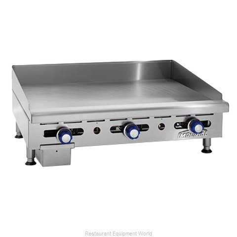 Imperial IMGA-2428-OB-2 Griddle Hotplate Counter Unit Gas