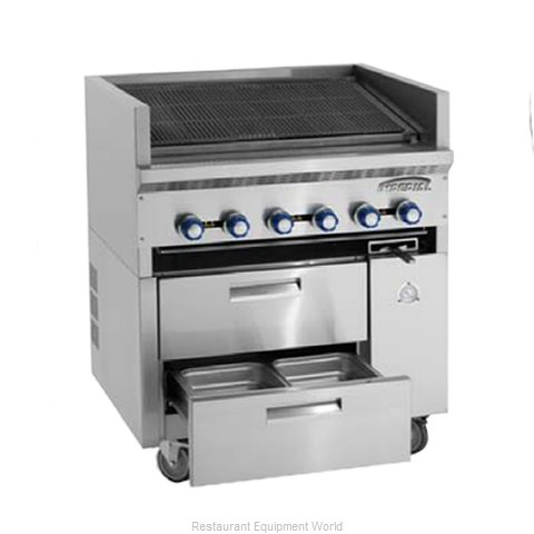 Imperial IR-36ABR-SC Charbroiler Gas