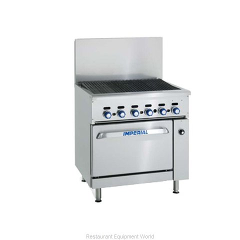 Imperial IR-48BR-XB Charbroiler Gas