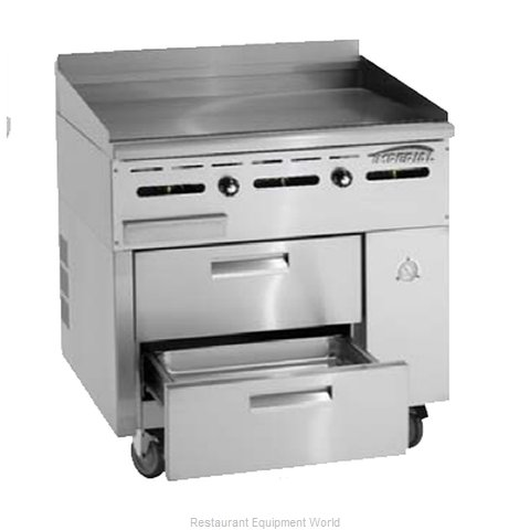Imperial IR-GT36-SC Griddle Gas Restaurant Range Match