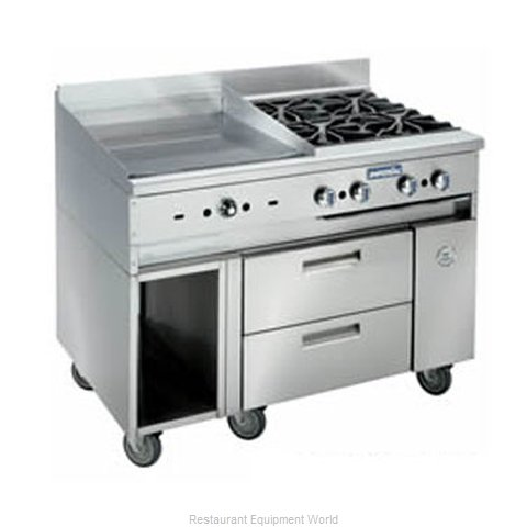 Imperial IR-GT48-SC-XB Griddle Gas Restaurant Range Match