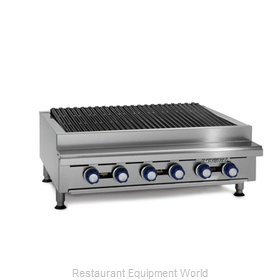 Imperial IRB-60 Charbroiler Gas Counter Model