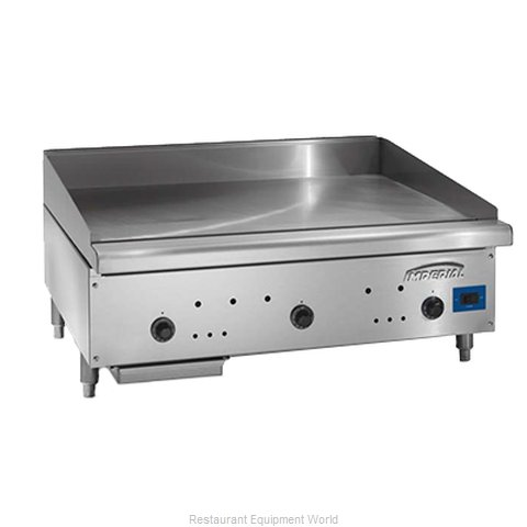 Imperial ISAE-60 Griddle, Gas, Countertop