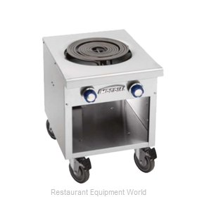 Imperial ISPA-18-2-E Stock Pot Range, Electric