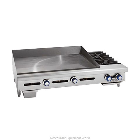 Imperial ITG-48-OB-2 Griddle / Hotplate, Gas, Countertop